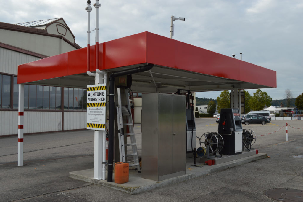 Tankstelle Avgas 100LL / Avgas UL 91
